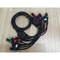5FT Gold Plated 5RCA To 5 RCA Cable