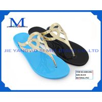 Sell lady's PVC fashion slippers for 2014