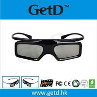 Replaceable batteries CR2032 only 28g weight cheap 3d active shutter glasses--GT900