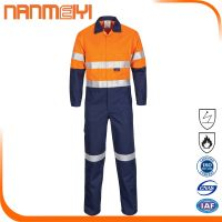 Safety Flame Retardant High-Vis Workwear Coverall thumbnail image