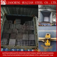 Hollow section Galvanized Square Steel Pipes on Stock thumbnail image