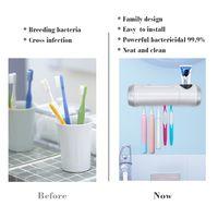 UV Toothbrush Sanitizer UVC Light USB Blue Toothbrush Sterilizer thumbnail image