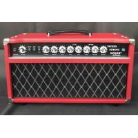 Professional Tube Guitar AMP Head 50W Dumble Tone SSS Steel String Singer Valve Amplifier in Red thumbnail image