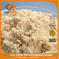 China supplier macroporous chelating resin used in hydrometallurgy