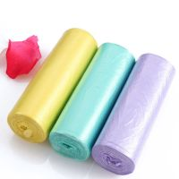 HDPE Plastic Disposable Garbage Bag trash bag Factory
