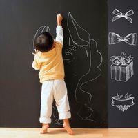 Chalkboard Contact Paper Vinyl Wallpaper - 17.7 x 78.7; Large Chalkboard Sticker Wall Decal
