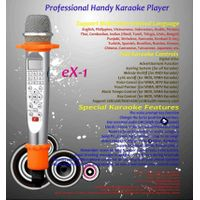 Pink portable karaoke player thumbnail image