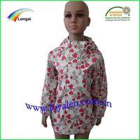 childre&kids PU raincoat&rain jacket