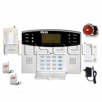 Quad-Band LCD GSM SMS Smart Wireless Home Alarm kits FS-AMG4199 thumbnail image