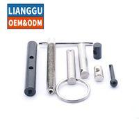 OEM ODM CNC machining hollow motor threaded cardan pin universal joint forging shaft thumbnail image