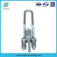 Hot-DIP Galvanized Steel Adjustable Nut Wedge Clamp thumbnail image