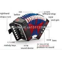 children 7 key 2 bass musical toy accordion for sale thumbnail image