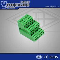 Hot sale Europe Type 3.81mm 12A 300V PCB Plug socket pin Terminal Blocks connectors thumbnail image