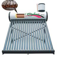 The First And Only Drinkable Solar Water Heater In The World(with copper pipe)