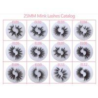 Free sample custom eyelash box private Label mink eyelash wholesale.. thumbnail image