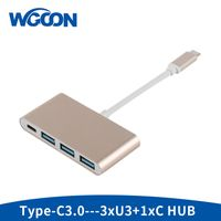 USB Type C to 3U3+C Hub
