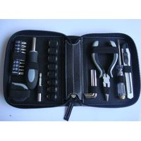 27-in-1 Machine Tools In Compact PU Zipper Pouch,Hand Tools Type Tool Kit