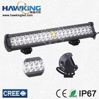 Flood Or Spot EPISTAR 120w Double Row Car LED Bar Light