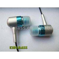 Metallic earphone