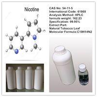 Nicotine 99.99% (USP grade, liquid nicotine)