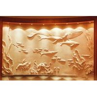 FRP/GFRP relief, resin relief sculpture