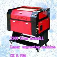 most fashion laser engraving machine X700 suitable for extensive material processing
