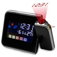 Digital Projector Alarm Clock LED Electronic Weather Thermometer Calendar thumbnail image