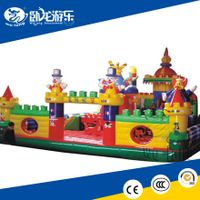Amusing High quality universe inflatable castle
