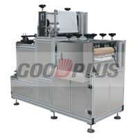 plastic disposable pvc sleeve making machine