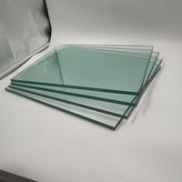 large size painted tempered glass partition wall m2 price