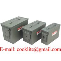 US / NATO Metal Ammo Box Ammunition Case Military Can - M19A1/M2A1/PA108 thumbnail image