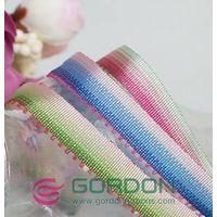 polyester rainbow ribbon