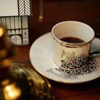 Luycho Mirror Cup & Saucer - Amur Leopard