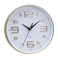 10 inch hot sale simple plastic quartz wall clock