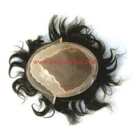 high quality indian remy hair toupee for man