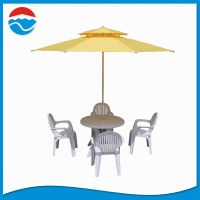 280CM*8K double lay windproof parasol