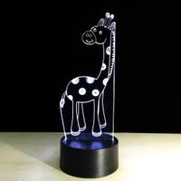 Innovative Visual 3D LED Light Decorative Table Lamps