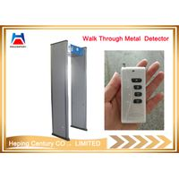Multi Zones Walk Through Metal Detector Security Body Scanner
