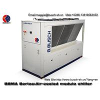 Cooling production edible oils and fat oils BUSCH industrial box type water cooled chiller