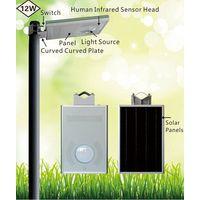 12w integrated solar light/solar light for sale