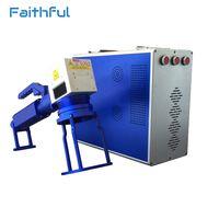 High speed fiber 20w laser marking metal nameplate printing machine thumbnail image