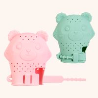 Bulk Price Customized Logo Silicone Baby Teething Glove