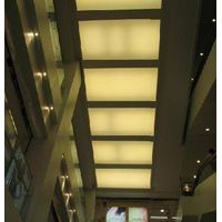 Stretched ceiling films