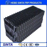 Transparent PP cooling tower filling pack for water coolant