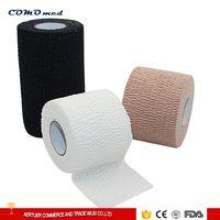 Cotton and spandex medical elastic bandage wrap elastic bandage fabric with customized colors