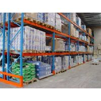 Warehouse storage rack and pallet racking