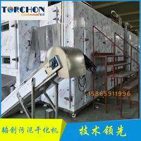 TORCHON brand Heat pump Sludge Shaping Machine Belt Type Sludge Dryer