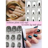 newest design metal curved nail tip thumbnail image