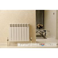 Whole casting aluminum radiator for water heating system