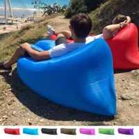 Laybag Lounger Lay's Bag Air Bed Inflatable Banana sleeping bag